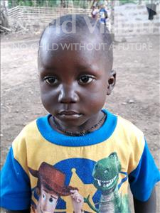Choose a child to sponsor, like this little boy from Imperi, Ibrahim Y age 3