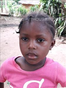 Choose a child to sponsor, like this little girl from Imperi, Zainab age 5