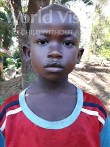 Choose a child to sponsor, like this little boy from Imperi, Amara age 8