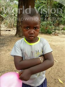 Choose a child to sponsor, like this little boy from Imperi, Brima age 4