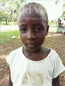 Choose a child to sponsor, like this little girl from Imperi, Lilian age 6