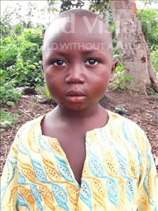 Choose a child to sponsor, like this little boy from Imperi, Umaru age 5