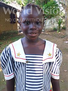 Choose a child to sponsor, like this little girl from Imperi, Nancy age 7
