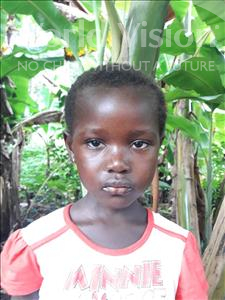Choose a child to sponsor, like this little girl from Imperi, Jenneh age 6