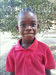 Choose a child to sponsor, like this little boy from Imperi, Abubakar age 7