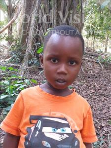 Choose a child to sponsor, like this little boy from Imperi, Mohamed age 3