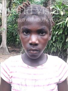Choose a child to sponsor, like this little girl from Imperi, Isata age 9