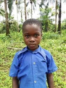 Choose a child to sponsor, like this little boy from Tegloma, Jusufa age 9