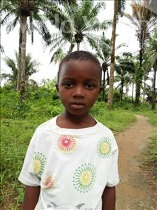 Choose a child to sponsor, like this little boy from Tegloma, Sumaila age 4