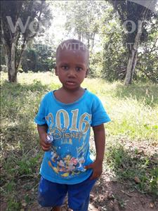 Choose a child to sponsor, like this little boy from Tegloma, Gebrilla age 3