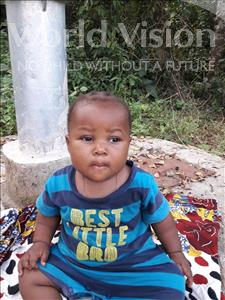 Choose a child to sponsor, like this little girl from Tegloma, Shekunatu age 1