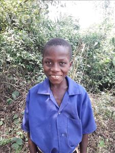 Choose a child to sponsor, like this little boy from Tegloma, Gibby age 8