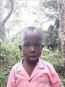 Choose a child to sponsor, like this little boy from Tegloma, Hassan age 4