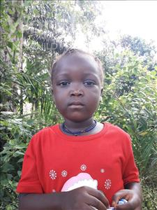 Choose a child to sponsor, like this little girl from Tegloma, Mariamaseray age 5