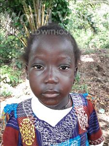 Hannah, aged 5, from Sierra Leone, is hoping for a World Vision sponsor