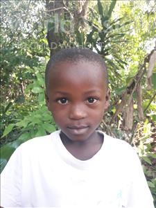 Choose a child to sponsor, like this little boy from Tegloma, Mohamed age 6