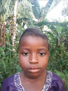 Choose a child to sponsor, like this little girl from Tegloma, Martha age 6