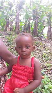 Choose a child to sponsor, like this little girl from Tegloma, Josephine age 1