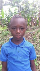 Choose a child to sponsor, like this little boy from Tegloma, Lamin age 10