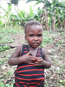 Choose a child to sponsor, like this little boy from Tegloma, Alfred age 2