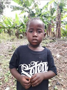 Choose a child to sponsor, like this little boy from Tegloma, Moses age 4
