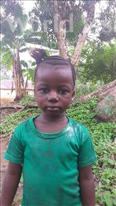 Choose a child to sponsor, like this little girl from Tegloma, Ramatu age 4