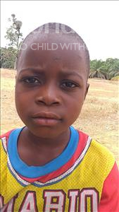 Choose a child to sponsor, like this little boy from Jaiama Bongor, Manah age 8