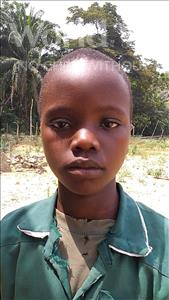 Choose a child to sponsor, like this little boy from Jaiama Bongor, Moigua age 10
