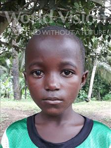 Choose a child to sponsor, like this little boy from Jaiama Bongor, Bashiru age 8