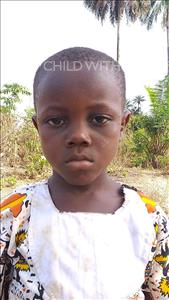 Sheku, aged 5, from Sierra Leone, is hoping for a World Vision sponsor