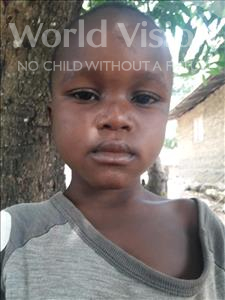 Choose a child to sponsor, like this little boy from Jaiama Bongor, Alhaji age 6