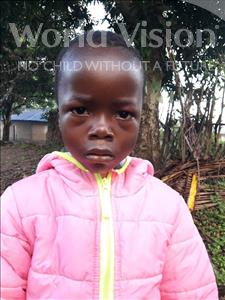Choose a child to sponsor, like this little boy from Jaiama Bongor, Osman age 5