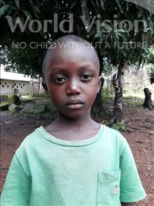 Choose a child to sponsor, like this little boy from Jaiama Bongor, Alhaji age 4