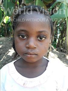 Choose a child to sponsor, like this little girl from Jaiama Bongor, Massah age 4