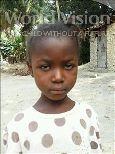 Choose a child to sponsor, like this little girl from Jaiama Bongor, Fatmata age 6