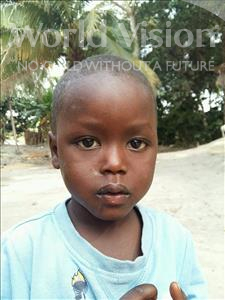 Choose a child to sponsor, like this little boy from Jaiama Bongor, Rashidu age 4
