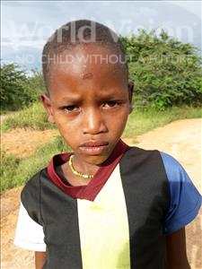 Choose a child to sponsor, like this little boy from Kilimatinde, Amos Kangaga age 3
