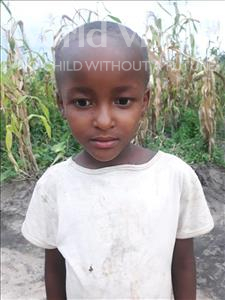 Choose a child to sponsor, like this little girl from Kilimatinde, Mecktilda Benedict age 6