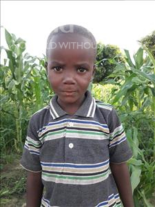 Choose a child to sponsor, like this little boy from Kilimatinde, Yohana Paschal age 5