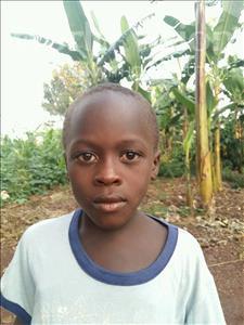 Choose a child to sponsor, like this little boy from Kibiga-Mulagi (Kimu), Hussein Migadde age 6