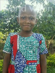 Choose a child to sponsor, like this little girl from Kibiga-Mulagi (Kimu), Florence age 9