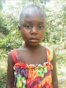 Choose a child to sponsor, like this little girl from Kibiga-Mulagi, Hellen age 6