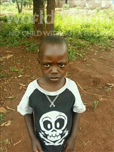 Choose a child to sponsor, like this little boy from Kibiga-Mulagi, Silver age 6