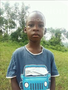 Choose a child to sponsor, like this little boy from Kibiga-Mulagi (Kimu), Gibril age 6