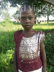 Choose a child to sponsor, like this little girl from Kibiga-Mulagi (Kimu), Betty age 5