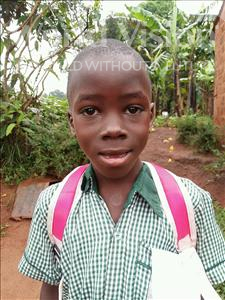 Choose a child to sponsor, like this little boy from Kibiga-Mulagi (Kimu), Eria age 6