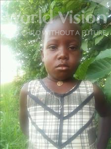 Choose a child to sponsor, like this little girl from Kibiga-Mulagi, Francisco age 4