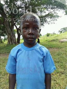 Choose a child to sponsor, like this little boy from Kibiga-Mulagi, Dan age 4