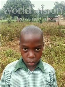Choose a child to sponsor, like this little boy from Kibiga-Mulagi, Joshua age 8