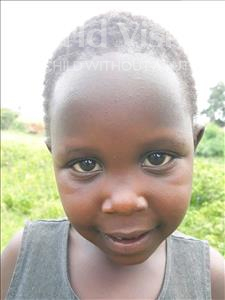 Choose a child to sponsor, like this little girl from Busitema, Eunice age 5